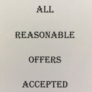 Accessories - Offers accepted!